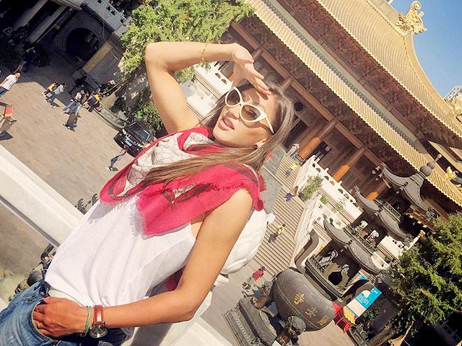 Екатерина Бычкова – о завершении вояжа в Китай