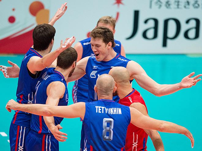 Волейбол. Кубок мира. Мужчины. Канада - Россия - 0:3