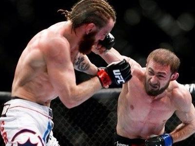 Победа Али Багаутинова и другие бои UFC 167