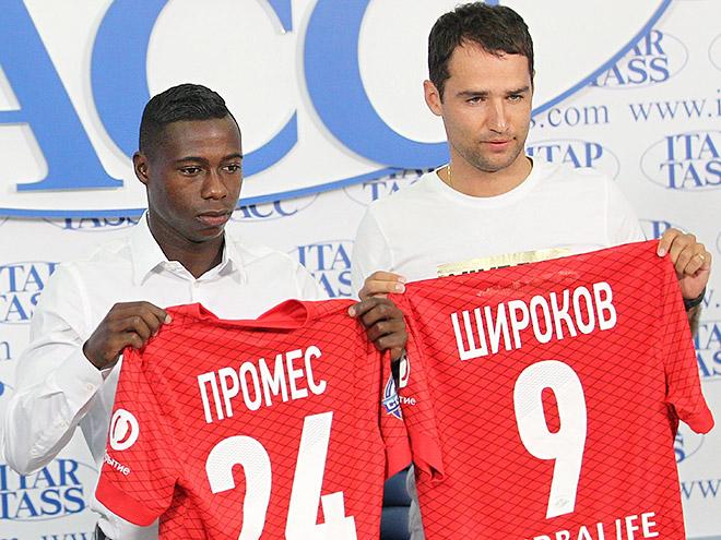 Квинси Промес и Роман Широков