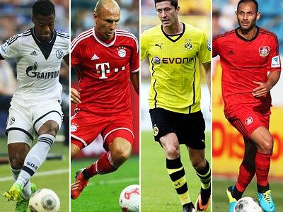 Новые формы и титульные спонсоры клубов бундеслиги