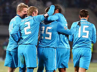 Игроки «Зенита» остались довольны игрой с «Бенфикой»