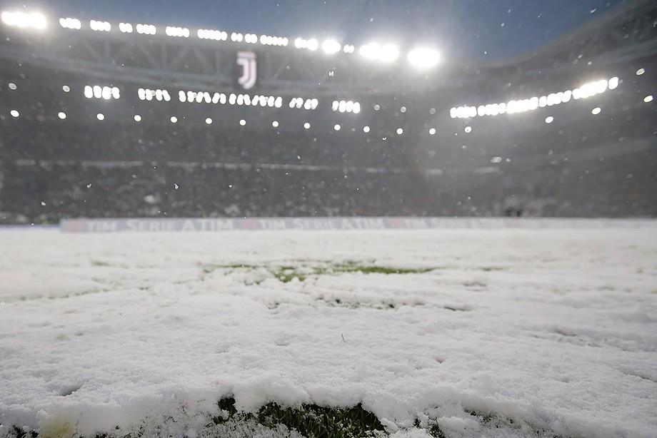 Матч Ювентус— Аталанта перенесен из-за снегопада
