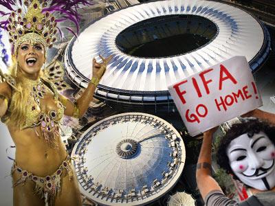 Готовность бразильских арен к ЧМ вызывает опасения