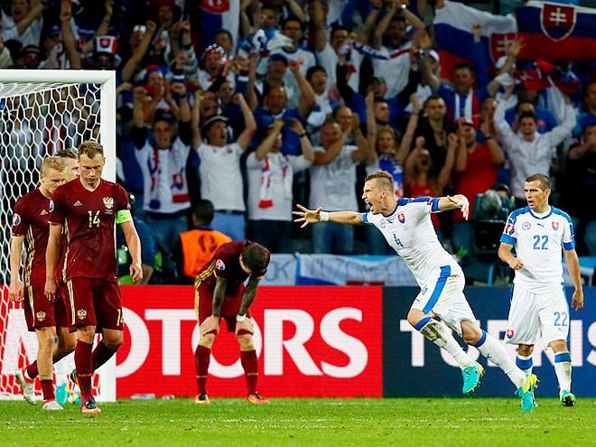Комментарии пользователей «Чемпионата» после матча Россия – Словакия