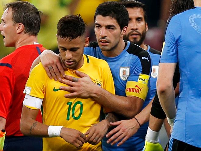 Бразилия — Уругвай — 2:2