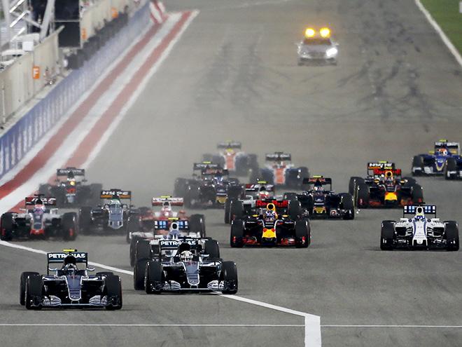 Нико Росберг побеждает в Бахрейне