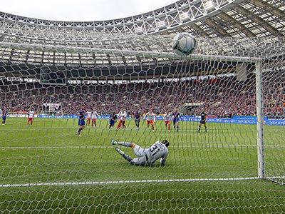 """ЦСКА и """"Спартак"""" сыграли вничью - 2:2"""