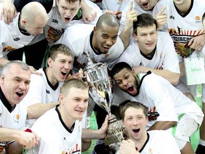 Киевский «Будивельник» выиграл Кубок Суперлиги
