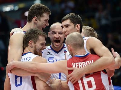 Россия — Болгария — 3:1