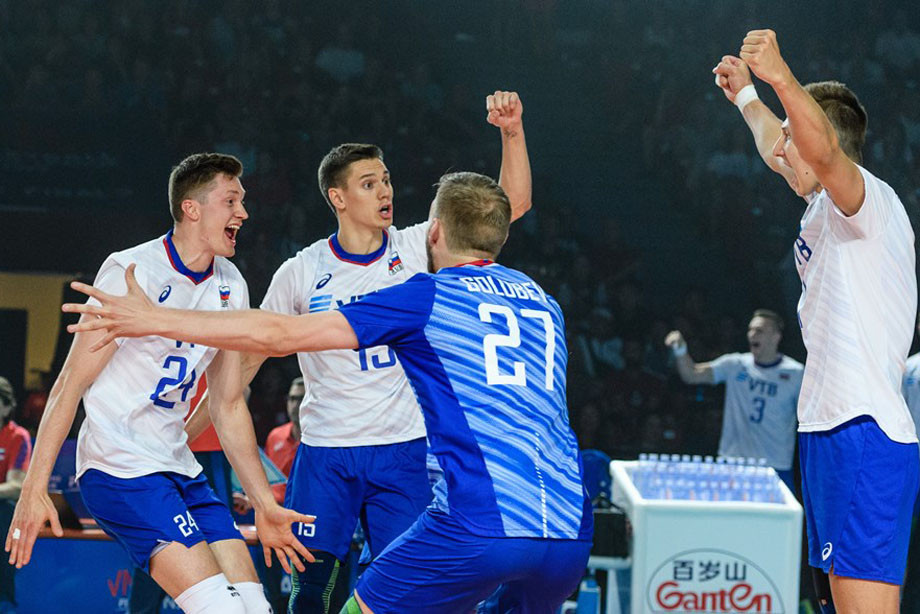 Россия обыграла США в финале Лиги наций со счётом 3:1, отчёт о матче