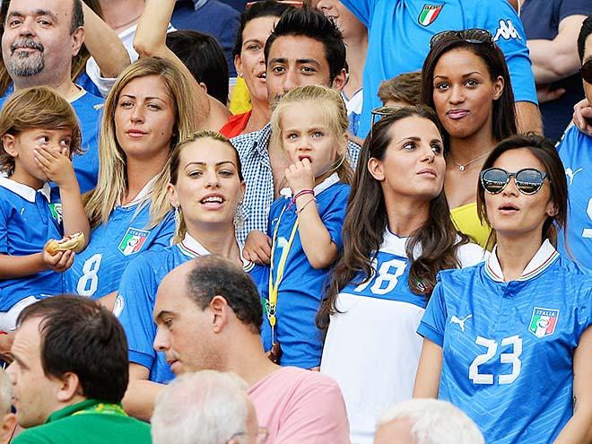 Самые красивые спутницы футболистов Серии А