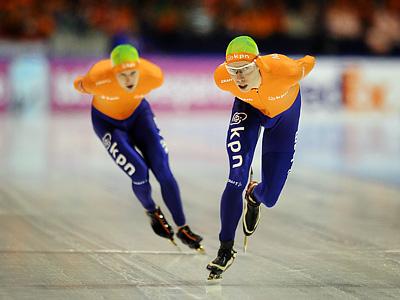 В Голландии завершился чемпионат мира по конькобежному спорту
