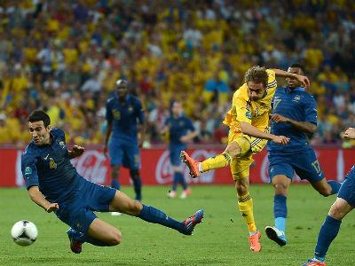 В плей-офф ЧМ-2014 Украина сыграет с Францией