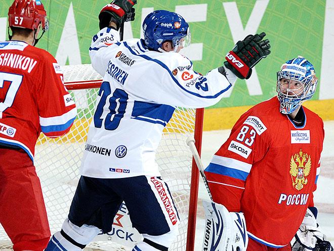 Россия - Финляндия - 2:6. Обзор матча