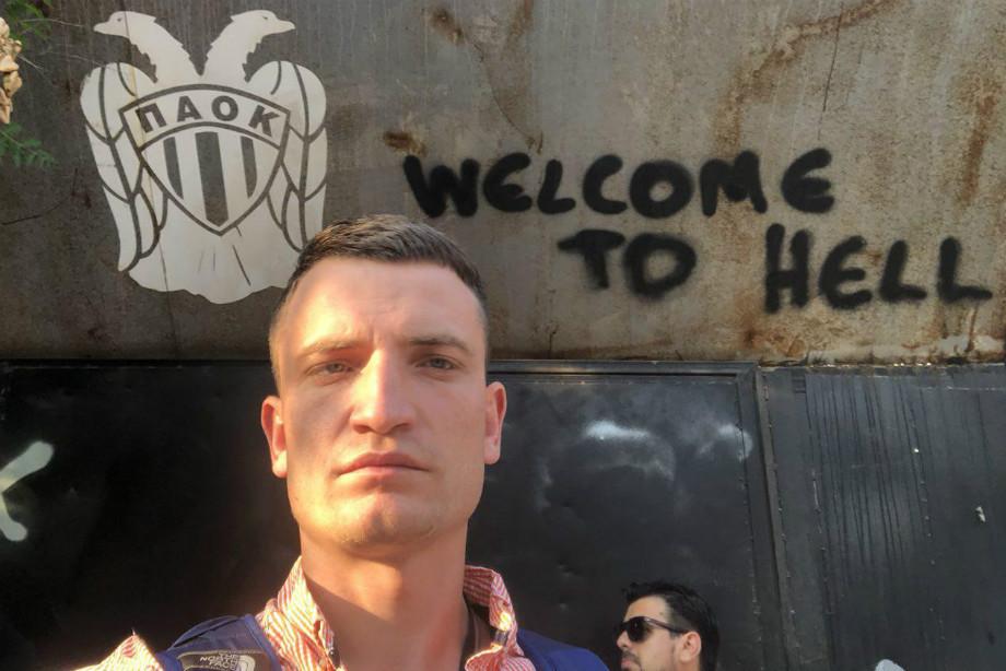 Ад в Салониках. Нападение на журналистов, давление на «Спартак»