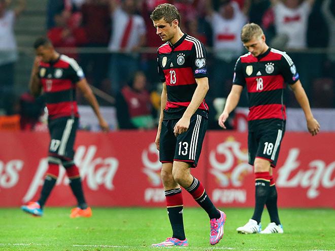 Германия проиграла Польше