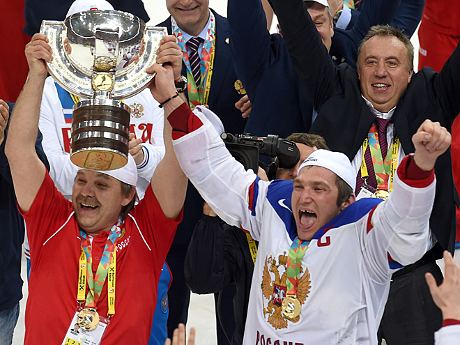 Олег Знарок, Александр Овечкин и Андрей Сафронов