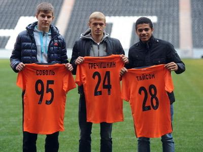 Луческу представил троих игроков