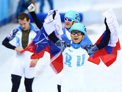Виктор Ан с партнёрами победили в эстафете