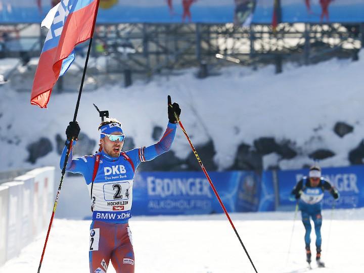 Биатлон. Россия – победитель мужской эстафеты