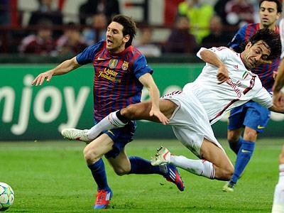 «Милан» и «Барселона» сыграли 0:0, «Бавария» одолела «Марсель»
