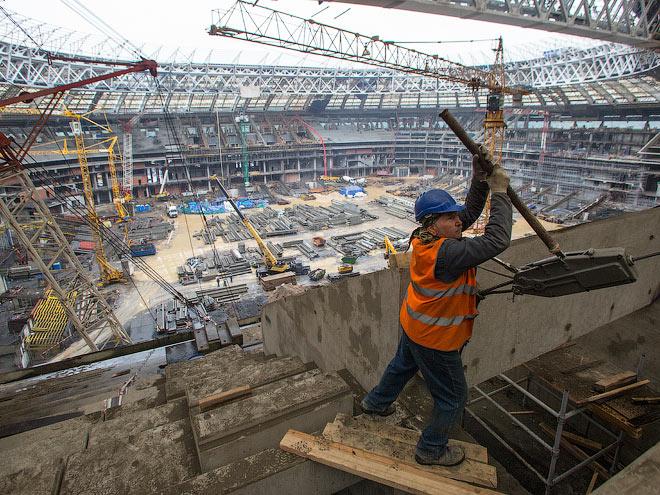 Комиссия ФИФА посетила «Лужники»