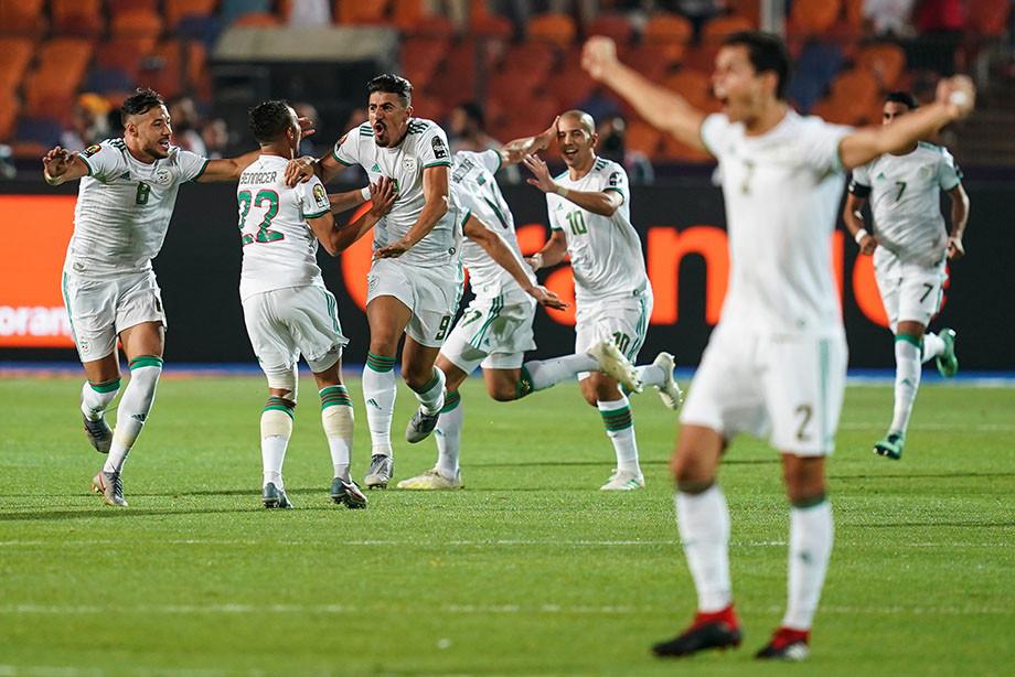 Сборная Алжира 2-ой раз вистории выиграла Кубок африканских наций