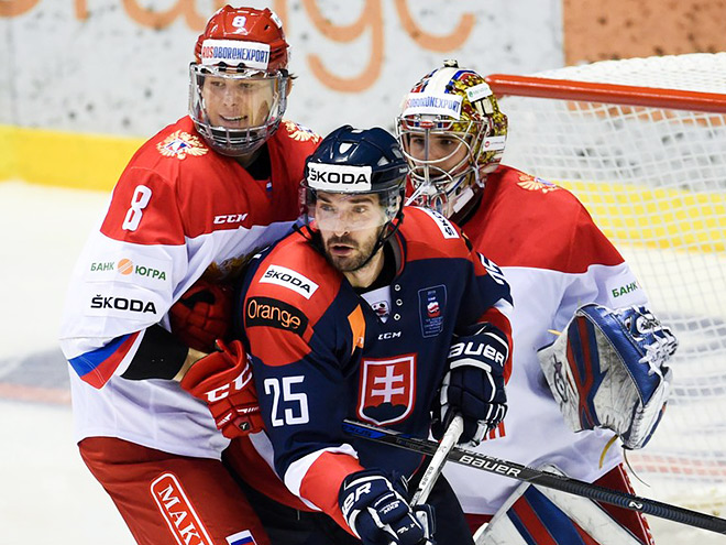 Итоги матчей Россия – Словакия на Еврочеллендже