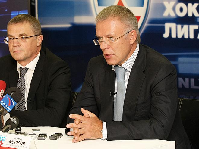 Александр Медведев и Вячеслав Фетисов