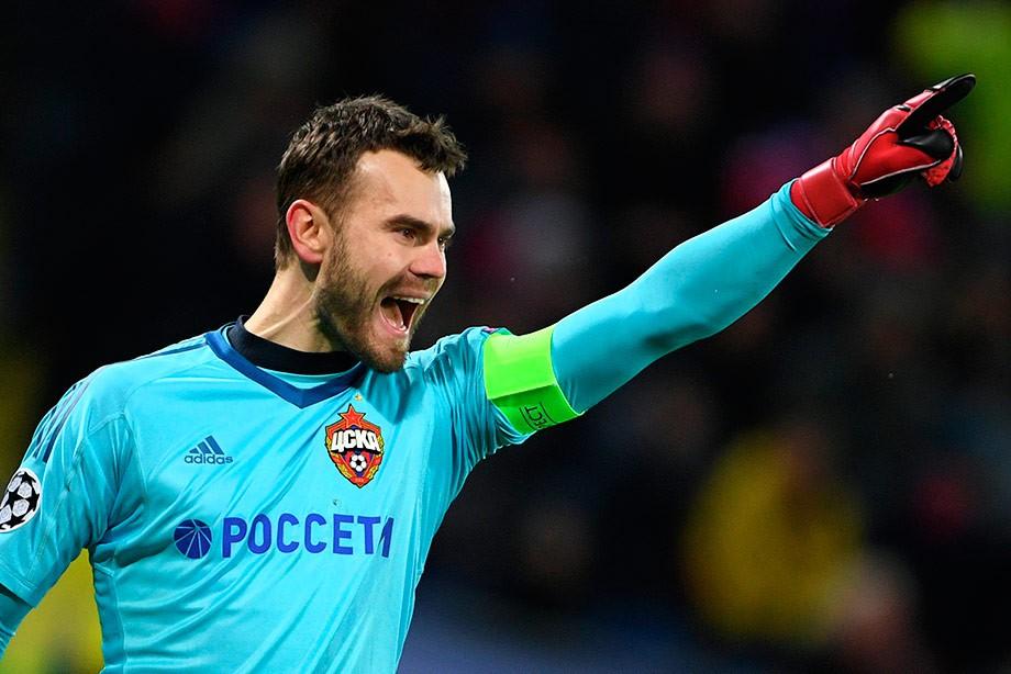 Игорь Акинфеев, ЦСКА