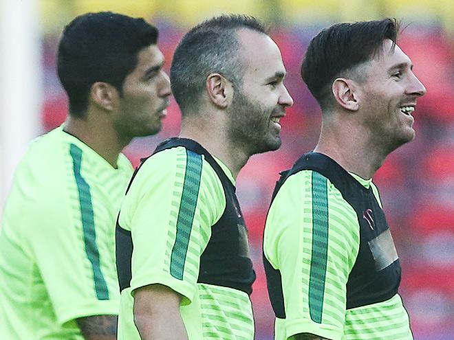 «Барселона» и «Ювентус» играют за Кубок чемпионов