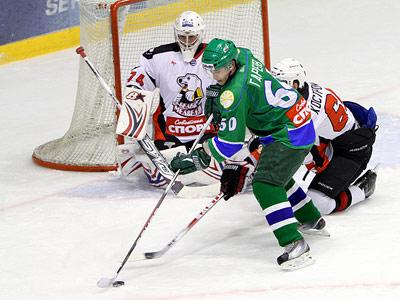 Уфа в хоккее неудержима