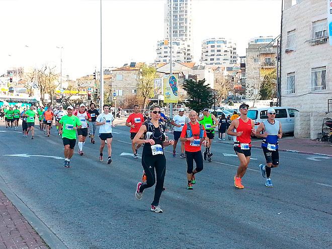 Завершился Иерусалимский марафон