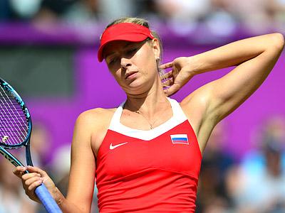 Олимпиада-2012. Теннис. Мария Шарапова