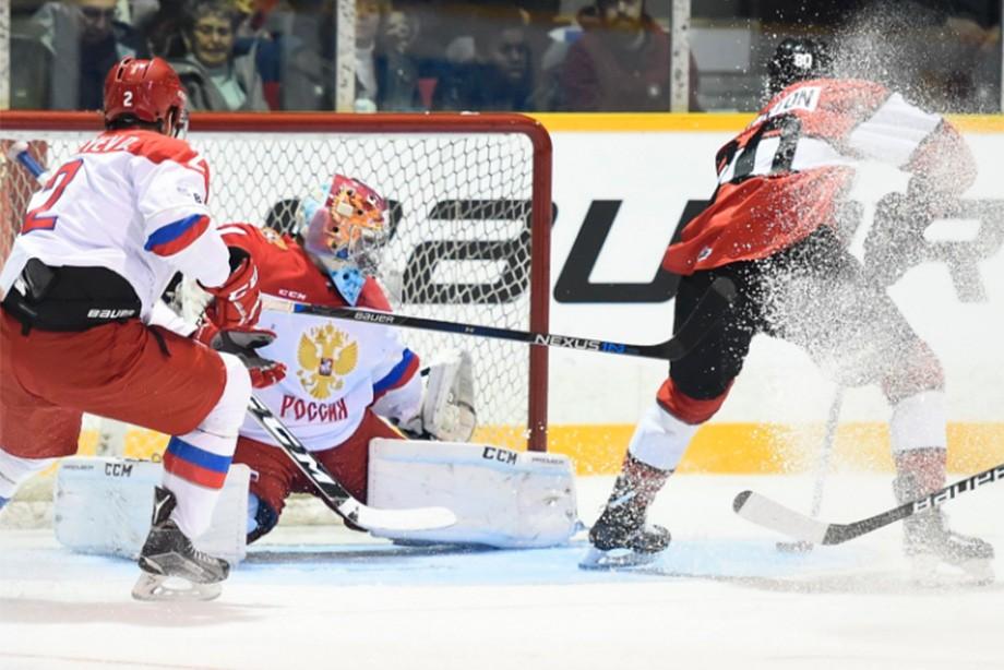 Молодежная сборная РФ обыграла команду OHL иповела вСуперсерии