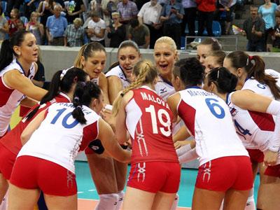 Россиянки обыграли Белоруссию
