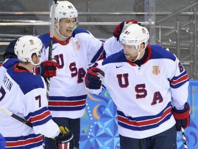 Сборная США сыграет в полуфинале с Канадой