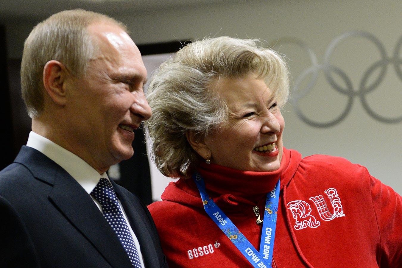 все первой последние фото тарасовой тренера из москвы тех