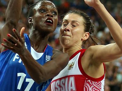 Лондон-2012. Баскетбол. Евгения Белякова