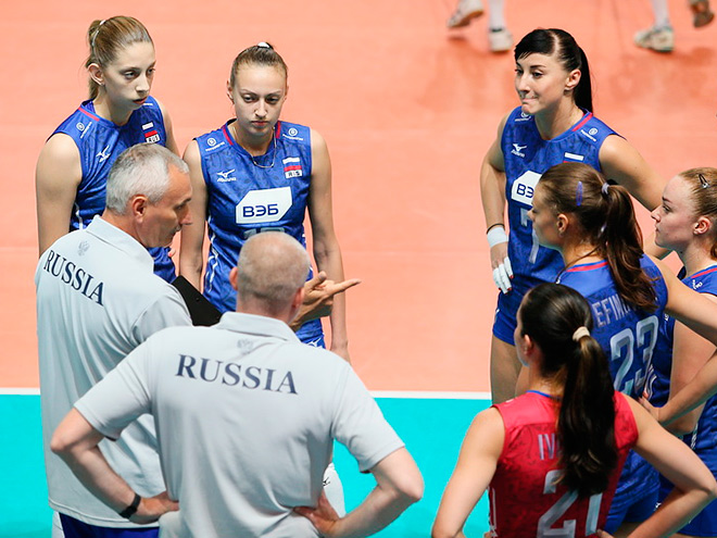 Россиянки уступили китаянкам в рамках Гран-при