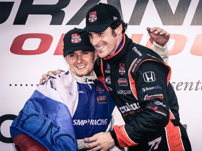 Как Алёшин принёс России первый подиум в IndyCar