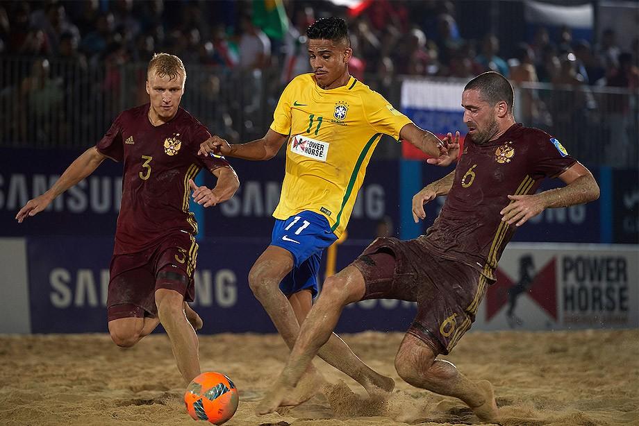 Пляжный футбол. Мундиалито. Россия — Бразилия. LIVE
