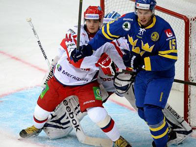 Сборная России выиграла у Швеции – 2:0