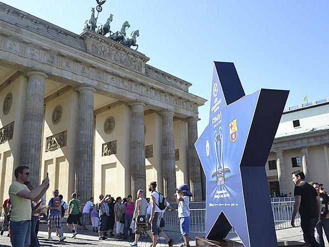 Берлин перед финалом Лиги чемпионов – репортаж