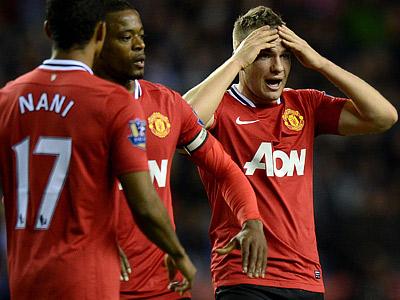 «МЮ» проиграл «Уигану» в 33-м туре чемпионата Англии