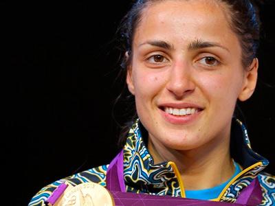 Яна Шемякина стала чемпионкой Игр в Лондоне