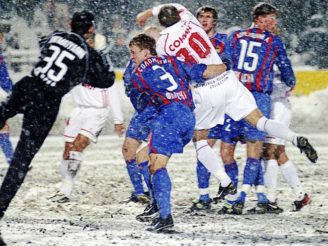 Погода против футбола