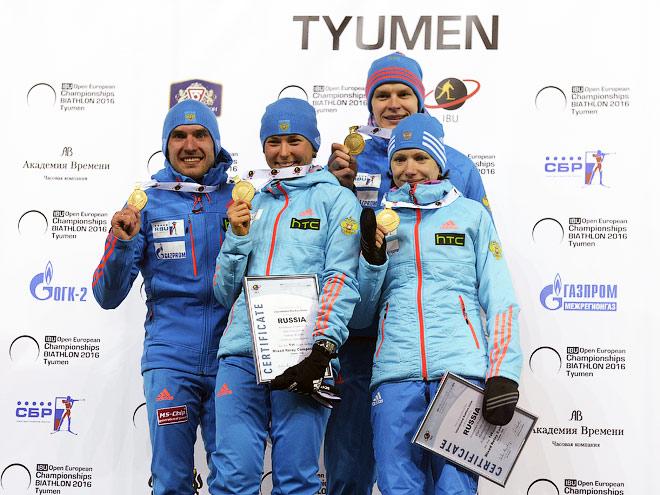 Россияне выиграли эстафеты на ЧЕ