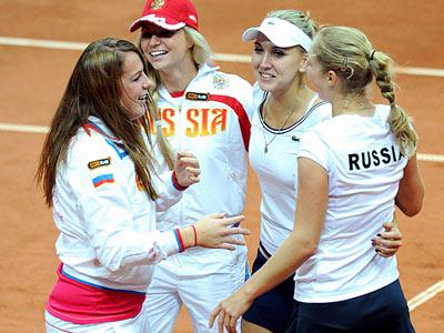 Сборная России вышла в финал Кубка Федерации